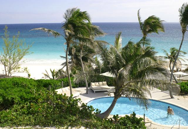 The Terrace Restaurant Coral Sands Hotel Bahamas